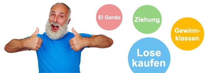 El Gordo Gewinnklassen der Spanischen Weihnachtslotterie